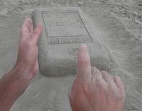 L'iPhone à la plage