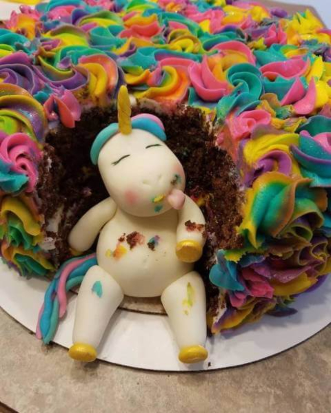 Le gâteau préféré des licornes.