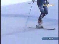 Sur un ski