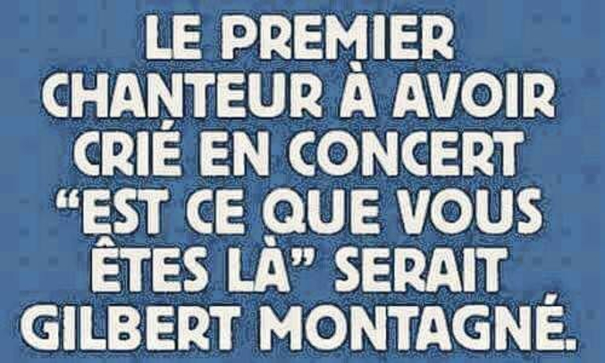 photo drole gilbert montagne