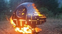Death Star fire pit / barbecue