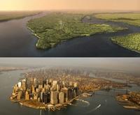 Manhattan avant et après
