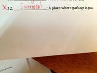 Où met-on les déchets ?