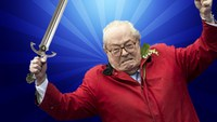 JM Le pen dans un duel à l'épée - ABS#22