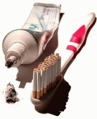 Brosse à dents de fumeur