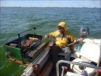 Barbecue en haute mer