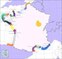 Les côtes de France