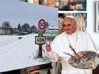 Le pape a peint Goin