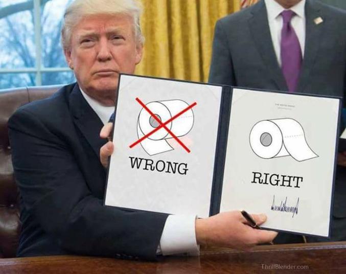 Trump vient de décréter la vraie position du PQ dans le dévidoir