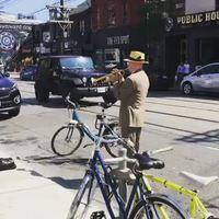 Trompettiste de rue