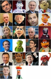 french politics meats muppets