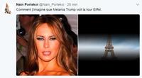 Melania Trump à Paris