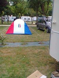 Une belle tente