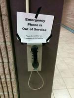 merci d'éviter d'avoir une urgence ici !
