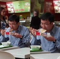 Quand tu ne sais manger avec tes mains