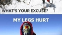 Sans jambe, il gravit l'Everest