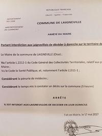 Un maître du Monde: le maire de Laigneville (Oise)