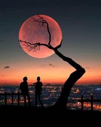 Une autre pleine lune