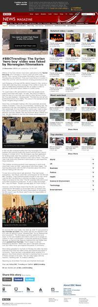 Syrie : un garçon sous les balles court sauver une petite fille (2)