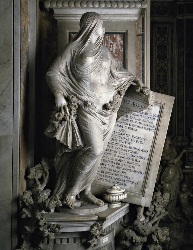 Chapelle Sansevero, Naples, XVIIIème siècle.