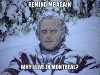 Un hiver normal.