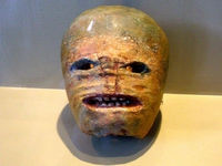 Une Jack O'Lantern originale aux allentours de 1850 (Museum of Country Life, Co. Mayo, Ireland)