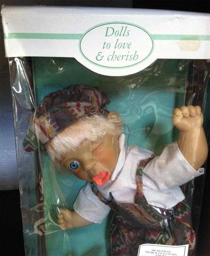 Même chez les poupées il y a de la discrimination.
