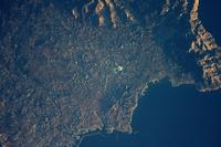 Marseille vue de l'ISS
