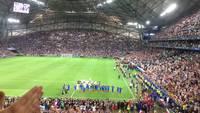 Clapping du Vélodrome avec les Bleus