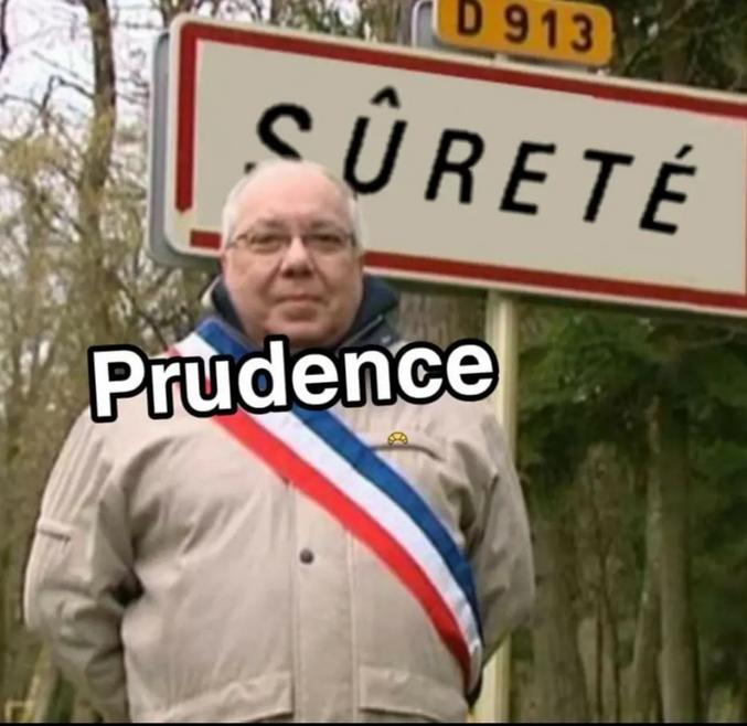 Prudence, maire de Sûreté.