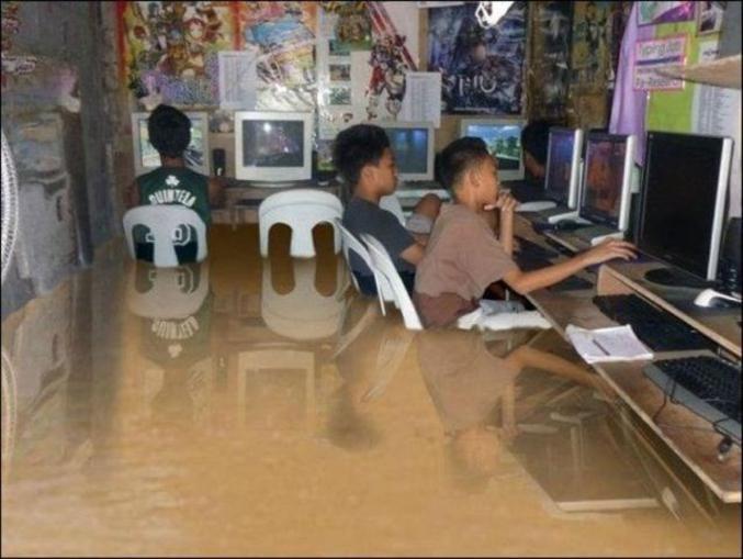 Les gamers vous diront tous que le watercooling c'est vachement bien pour la stabilité. Ici c'est hyper stable. (c) Phil Good