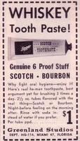 Pâte dentifrice au goût Whisky