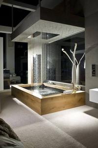 Un bain de pluie