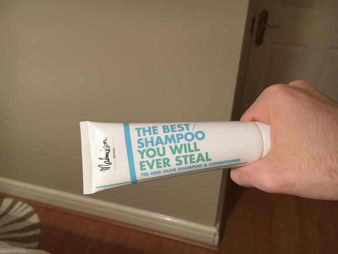"""""""Le meilleur shampoing que vous pourrez jamais voler !"""""""