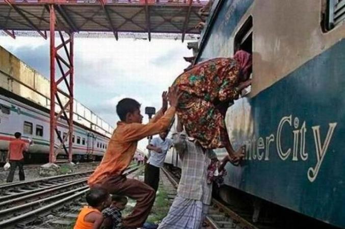 La crise des transports en Inde.