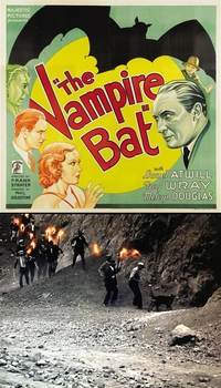 """The vampire bat"", film d'horreur en NOIR & BLANC de 1933"