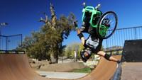 Freestyle en chaise roulante
