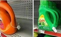 Contrer les laveurs cleptomane