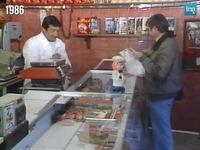 Les petits commerçants du siècle dernier