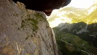 Wingsuit Waterfall