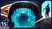 Diorama du Frozen Leviathan du Subnautica