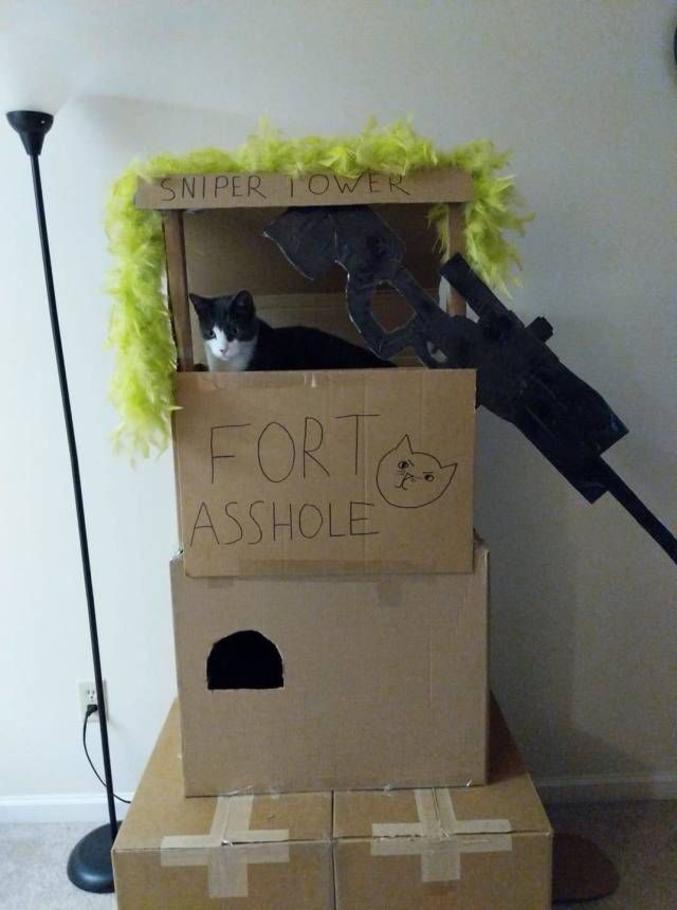 Un soldat qui tiendra le fort jusqu'au bout.