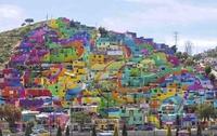 Une ville en couleur