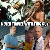 Ne jamais voyager avec ce gars !