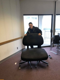 Le fauteuil du big (...very big) boss