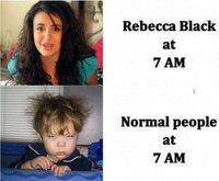 Rebecca Black Vs. le reste du monde