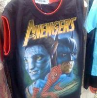 Avengers, le T-shirt.