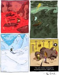 Link's epic fail