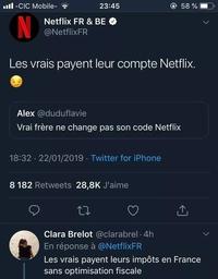 Netflix et le juste prix cher ?
