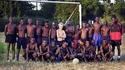 Une équipe de foot